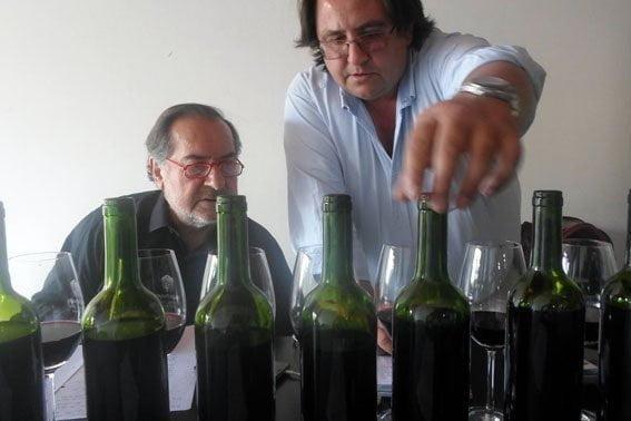 Michel Rolland und Marcos Etchart